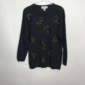 Victoria Harbour NWT vintage beaded sweater/dress